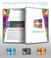 Windows 8 RTM DVD Covers (en-US) by Misaki2009