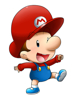 It's Baby Mario Time! by Nintendrawer