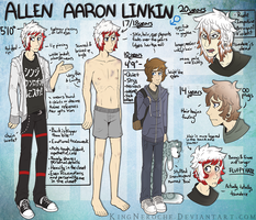 Allen Aaron Linkin. by KingNeroche