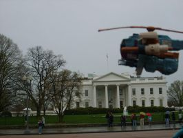 Parking on the White House by lizcat14