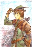 Robin Hood goes manga? by pika