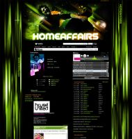 myspace layout homeaffairs by homeaffairs