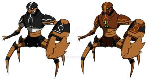 Pisciss Preman - Kraab Omnitrix version by Zimonini