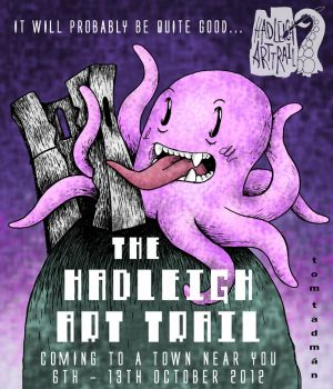 Hadleigh Art Trail Poster Thing by tomsacoolcat