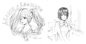 Sketches ^ ^ by xiao-speck