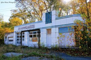 Old Gas Station by GlassHouse-1