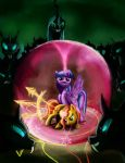 Twilght and Sunset vs. the Changelings by Fox-Moonglow