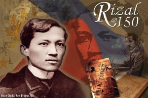 Tribute to Jose Rizal at 150 by vhive