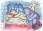 Late Night Watercolor by Kucket