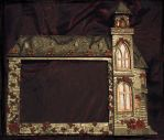 Addams Family picture frame 2 by dischordiasnightmare