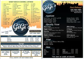 GiGi's Menu Design by dustMights