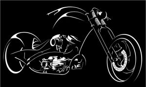 Night Drive Chopper by smev
