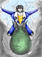 Thundercracker goes Major Kong by Deezaster-return