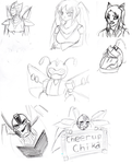 Sketches by xoes