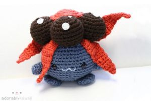 Pokemon Gloom Amigurumi by adorablykawaii