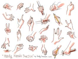 Handy Hands Practice by OtakuEC
