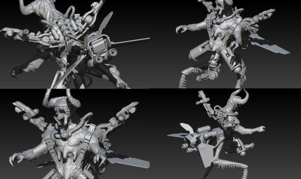 Monster kitbash by PatataHot