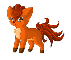 Vulpix by CrispyCh0colate