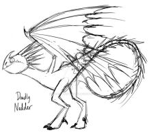 HTTYD::. Nadder Sketch by MarticusProductions