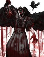 Bloody Demon Man by 00chalcedony00