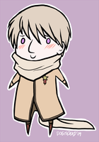 APH: Scarf Wears You by Kitsune--Rin