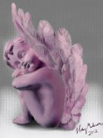 Angel pastel by Nimily