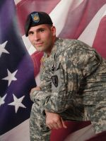American Soldier by AilinStock