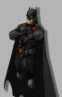 Batman Futuristic by H1W0