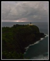 Lighthouse Lightning by aFeinPhoto-com