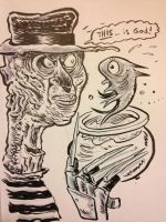 Freddy Krueger vs Dr. Suess by thegreck