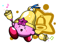 Bell Kirby! by p0Yo