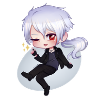 Mystic Messenger - Zen Chibi by ShintaWorld