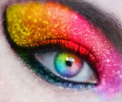 Rainbow Eye by Strange-B