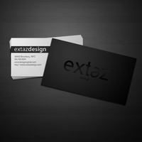 extaz business card by obsilion