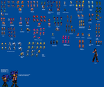 Sprites I've been working on. by parrishbroadnax