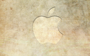 Textured Apple Logo by josephbc
