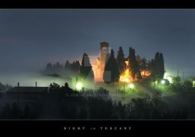 Night in Tuscany by jsmonzani