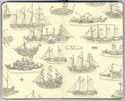 Tall ships by MattiasA