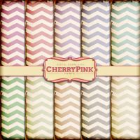 CHEVRON Digital paper, scrapbooks premade pages by miabumbag