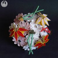 January 2013 - Aster, Pine Needles and Bamboo by Arleen