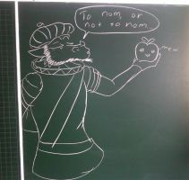the real school doodle by Balamoo