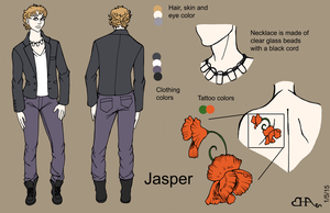 Jasper Reference Sheet Commission by Heart-of-Amethyst