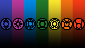 7 Lantern Corps Wallpaper 2 by mr-droy