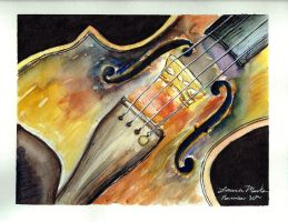 Portrait of a Viola by PonderosaPower