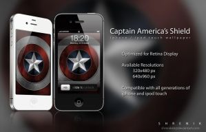 Captain America's Shield by ShRENiKKK