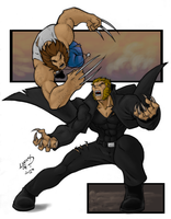 Wol VS Sab COLORED 09 by LucasAckerman