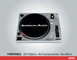 Turntable Vector by AryaInk