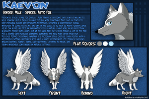 Kaevon Reference Sheet by xAshleyMx