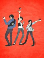 Awesome Pokemon Trainers by sugarfairy7