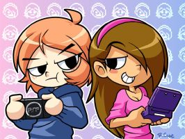 Girl Gamers by rongs1234
